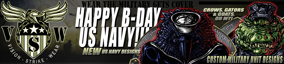 Navy Birthday and BOGO Decals